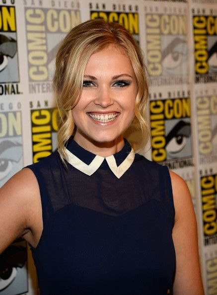 <b>Eliza Taylor</b> Actress <b>Eliza Taylor</b> attends 'The 100' Press Line during ...