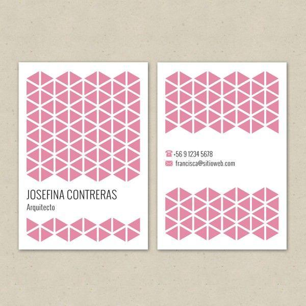 Tarjeta Nº4 Rosa | Diseño & Papel | Tienda Online