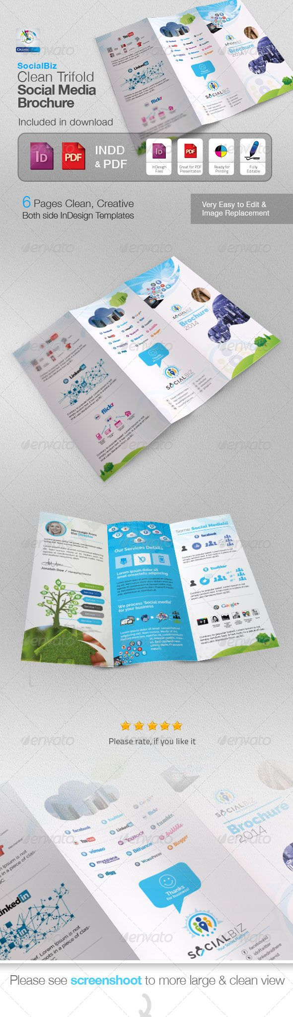 social media brochure template - 561 best images about logos lighthouse on pinterest