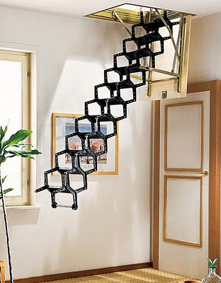 Retractable Stairs.