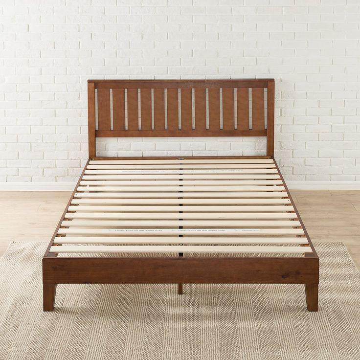 Baxton Studio Celine Geometric Wood King Platform Bed