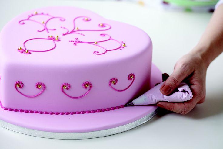 Herzkuchen, Torte, rosa: Birthday, Fondant Torten, Cake, Shower Cake, 1 181 787 Pixel, Pink, 1181787 Pixel, Birthday Cake, Baby Shower