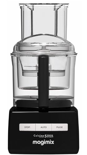 #Magimix 5200 XL Premium, #black #food_processor, by Magimix (www.magimix.fr)