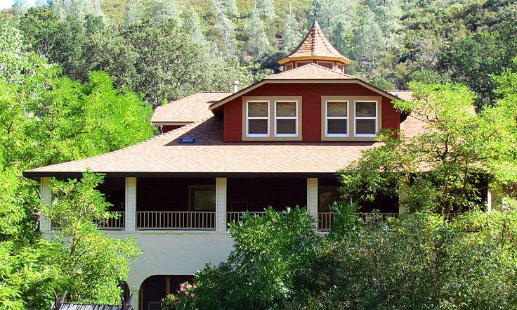 Wilbur Hot Springs restored turn-of-the-century hotel. Off-grid/ solar powered. Hot mineral springs. Nature Preserve. wilburhotsprings.com