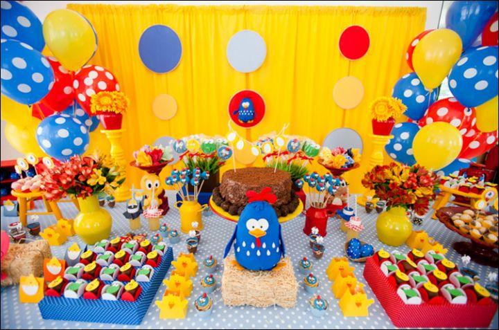 Uma Festa Infantil Galinha Pintadinha dos Sonhos