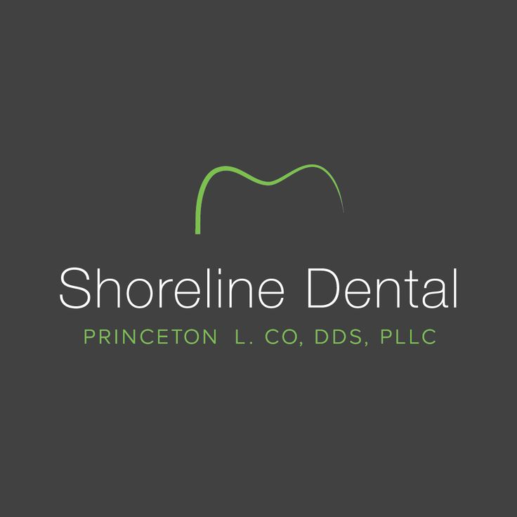 Shoreline Dental Logo by Roadside Dental Marketing #dental #logo #design…