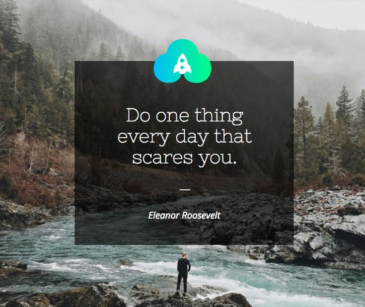 A great advice, if you do so you soon will see that nothing ever happens and you will get more brave day by day! We wish you a succsessful Saturday.