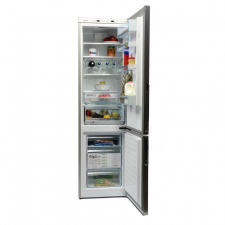 Combina frigorifica Bosch KGE39BL41, 339 l, Clasa A+++, H 201 cm, Argintiu