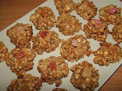 Smak Zdrowia: Owocowe ciasteczka owsiane z cynamonem