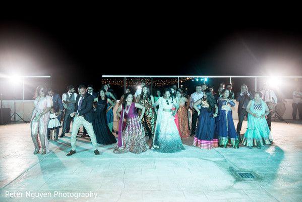 Indian wedding reception dance performance http://www.maharaniweddings.com/gallery/photo/128781