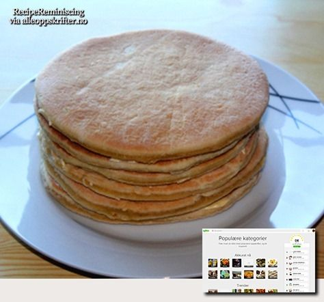 A traditional lefse recipe from Northern Norway found on alleoppskrifter.no There are two main groups of lefser in Norway, thin and thick. These ones from Northern Norway are thick. Ingredients 4 e…