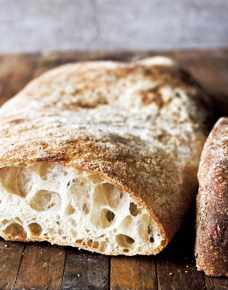 Authentic Ciabatta Recipe (This Italian ciabatta recipe is the real authentic deal. The best ciabatta recipe we've ever tried and one of our most popular recipes.)