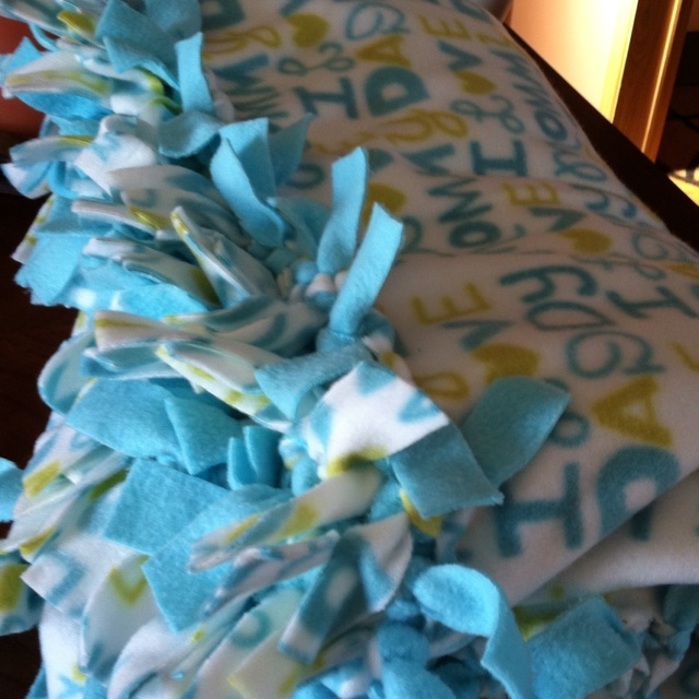 19 Best Images About Fleece Tied Blankets On Pinterest