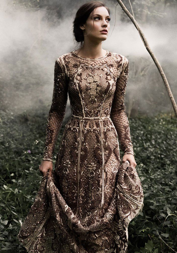 Breathtaking Look of Paolo Sebastian Fall Winter Couture 2014-2015 - Be Modish - Be Modish