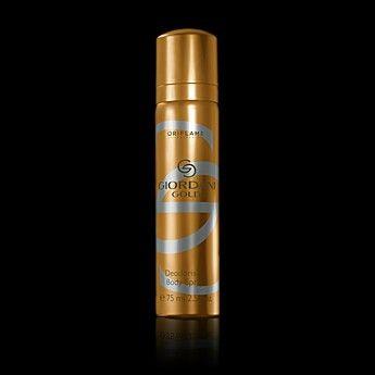 Gordani Gold Body Spray going for Tsh 11,000