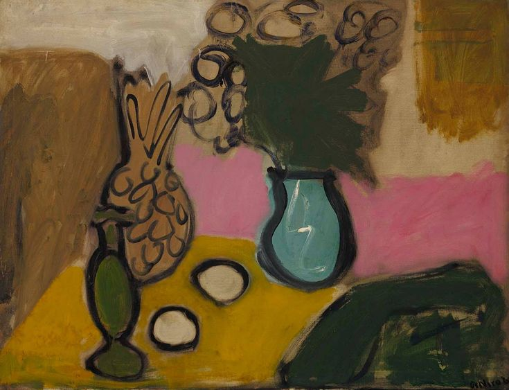 Robert De Niro, Sr. (1922 - 1993) Still Life, Blue Vase, 1960 Smithsonian American Art Museum