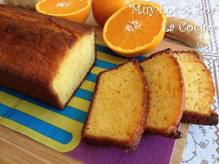 Twittear     Este es un bizcocho esponjoso y jugoso con sabor a naranja y un toque refrescante y exótico que proporciona el j...