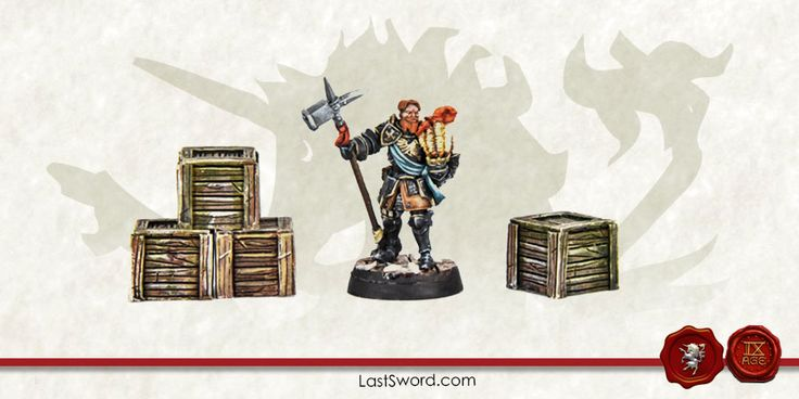 Wooden boxes for Warhammer fantasy, Mordheim, frostgrave, Kings of war, Heroquest, WArhammer quest and others wargames.