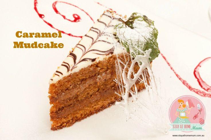 Caramel Mud Cake | Stay at Home Mum