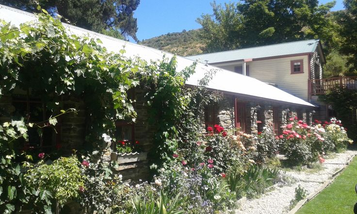 The beautiful garden accommodation at the Cardrona Hotel.