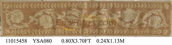 ==> [Free Shipping] Buy Best Pure hand woven french aubusson carpets aubusson rugs in 24CMX113CM 0.8'X 3.7' gc088aubYSA080 Online with LOWEST Price | 32692994077