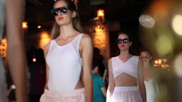 """Angela Bang """"Paradise Isle"""" collection fashion show www.shopangelabang.com #angelabang #paradiseisle #fashionshow #video #summer"""