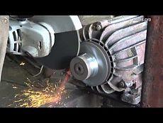Как сделать шкив из ничего (мастер-класс от бати) - YouTube