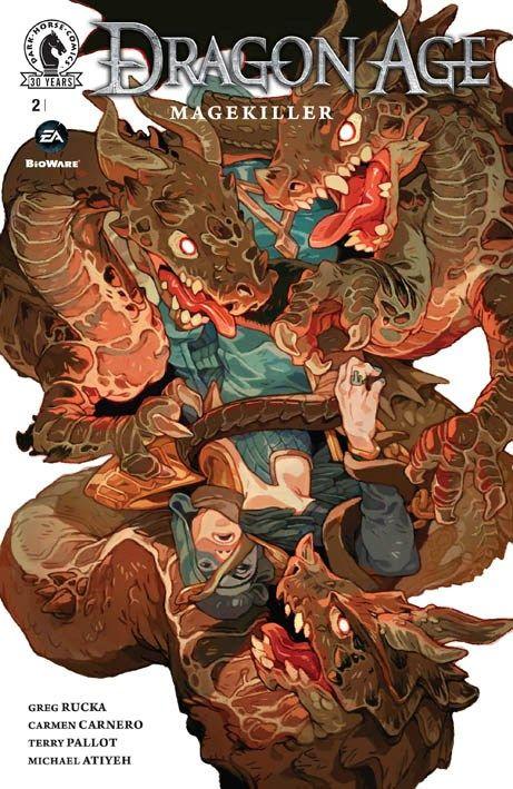 """Dragon Age: Magekiller"" 2 (2016) Cover di Sachin Teng #DarkHorseComics #GregRucka #DragonAge"