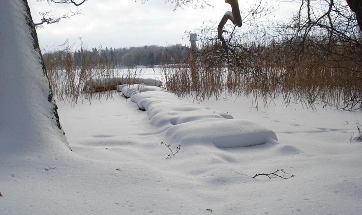 Jezioro Raduń - Wałcz -wspomnienie zimy.