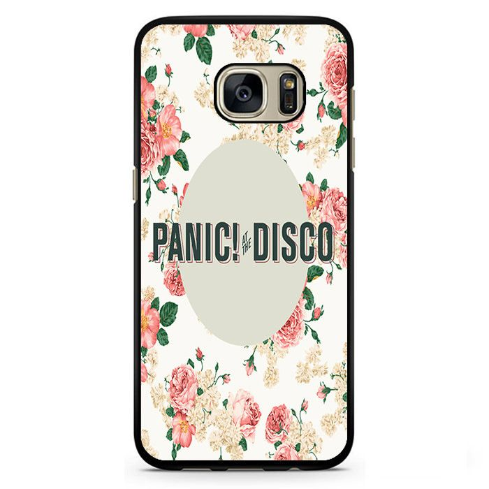 Panic At The Disco Floral 3 Phonecase Cover Case For Samsung Galaxy S3 Samsung Galaxy S4 Samsung Galaxy S5 Samsung Galaxy S6 Samsung Galaxy S7