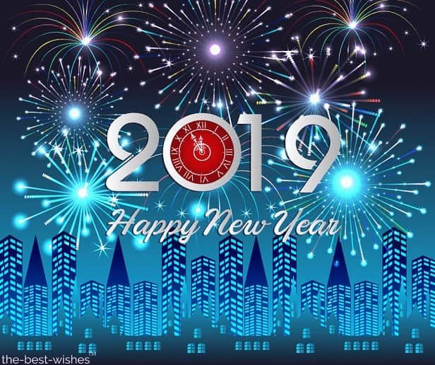 Happy New Year 2021 Wishes Quotes Messages Best Images Happy New Year Fireworks New Year Fireworks New Year Wishes