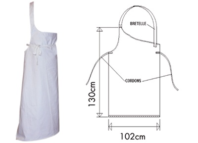 french butcher apron - idea