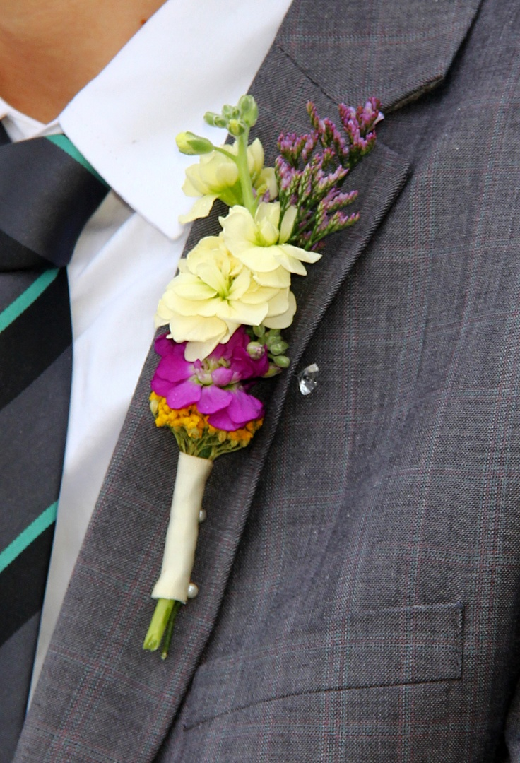 Wedding Flowers Packages Bristol : Weddings menswear suit flower button hole outer banks
