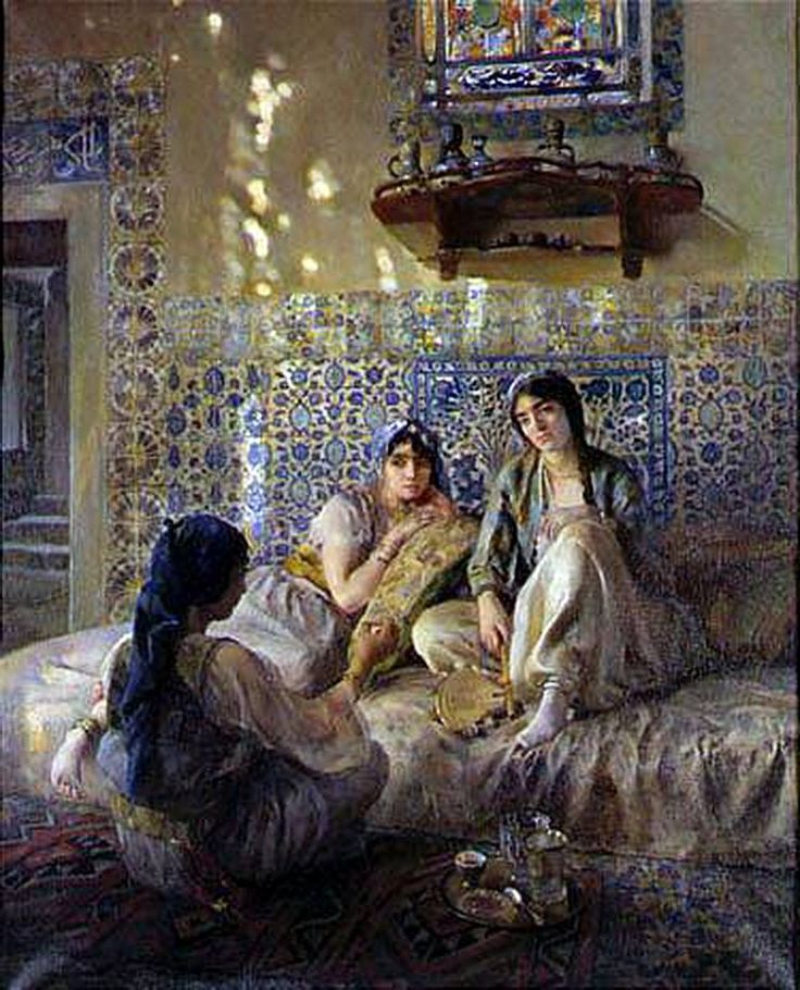 Painted by Paul Alexandre Alfred Leroy (French, 1860-1942)