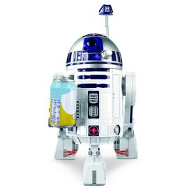 Now you can hang out with your own Star Wars® sidekick, R2-D2™! This state-of-the-art R2 series droid unit is packed with lights, sounds and awesome features. Simply grab his attention by saying ''Hey, R2!'' and he's ready to respond to over 40 voice commands!