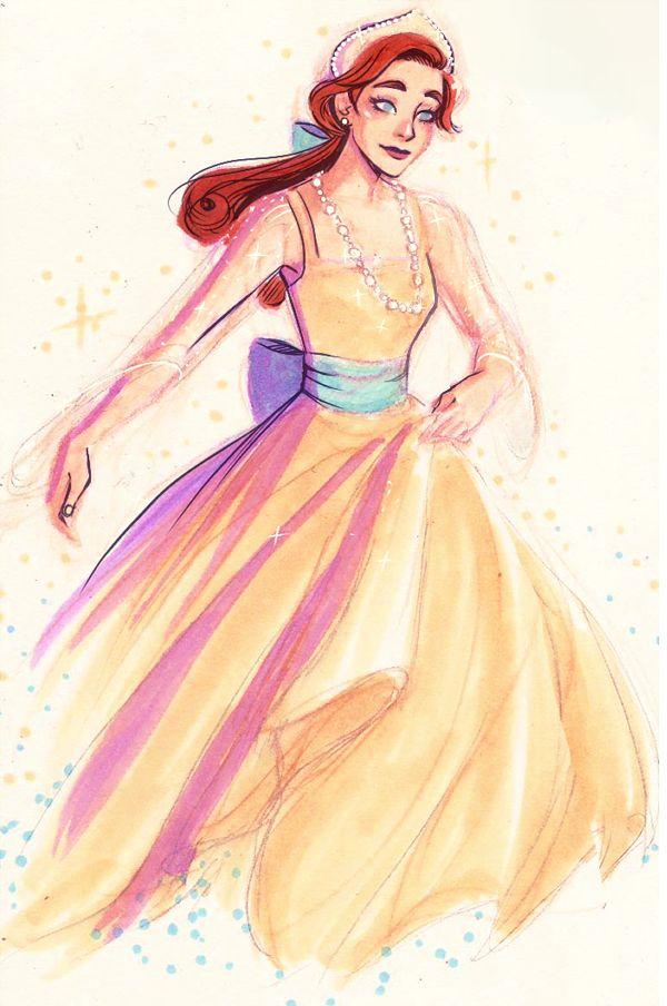 "Anastasia, ""Once Upon A December"" dress (Anastasia)"