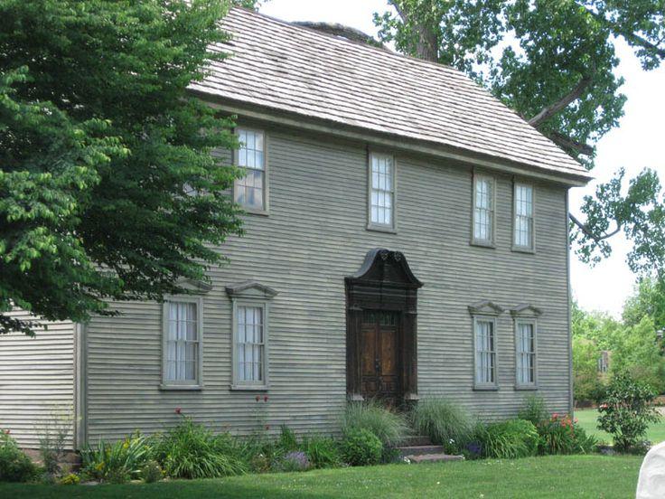 Historic New England Farmhouse Plans