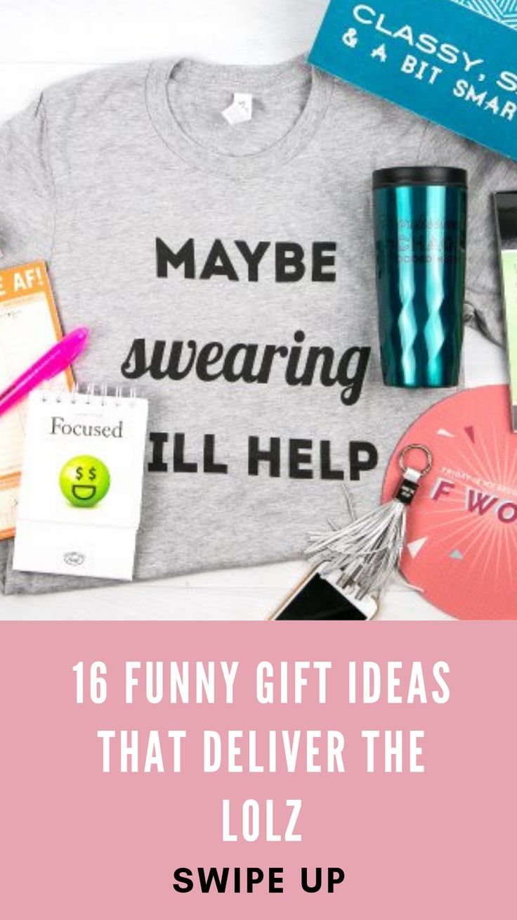 13 Funny Gift Ideas That Deliver The LOLZ (With images