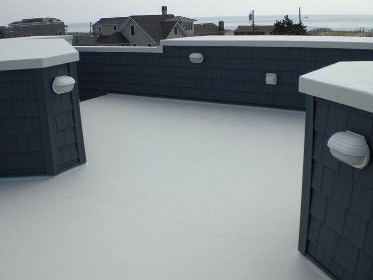 Fiberglass Roof Deck From Hot Coat Fiberglass  Http://www.njfiberglassdeck.com