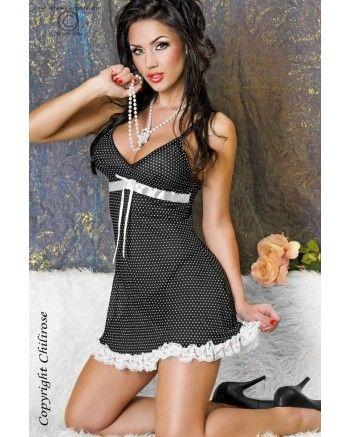 čierna košielka- budte sexy v každej situácií- 19,90€ Košieľku nájdete v našom e-shope TU → http://www.fashionlook.sk/damske-oblecenie/sexi-pradlo/sexi-kosielky/kosielka-cr-3170-cierna.html