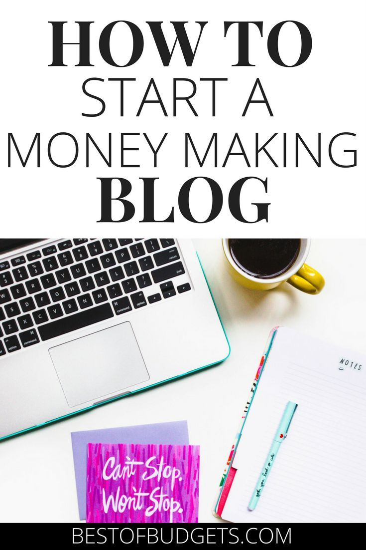 How to Start a Money Making Blog in 20 Minutes. 2017 is the year to start your blog. Escape to the freedom of entrepreneurship. Escape your 9 to 5. Blogging can help you make money online. Work from home blogging and learn how with this quick and simple blogging tutorial. Bestofbudgets.com