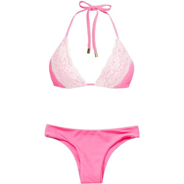 To Die For Gypsy Bottom featuring polyvore fashion clothing swimwear  bikinis bikini bottoms dark pink womens