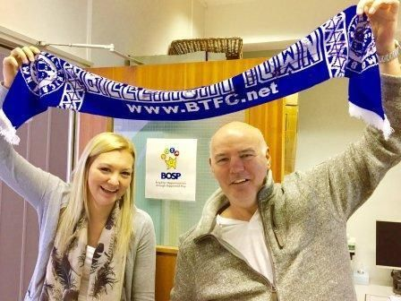 Billericay Town FC - Signed scarf (auction for BOSP Charity)