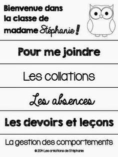 Les créations de Stéphanie: La rencontre de parents