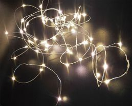 Lankavalosarja, 40 LED, lämmin valkoinen; Crystal Decors | Rellunkulma.fi verkkokauppa
