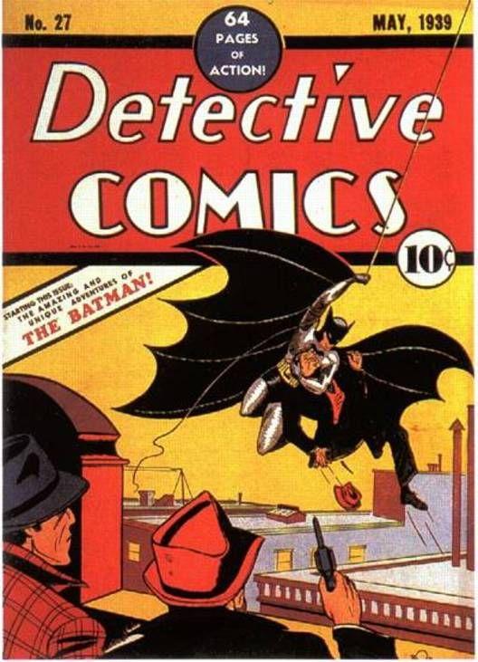 Detective Comics # 27 - Uma das cinco histórias em quadrinhos mais valiosas do mundo.