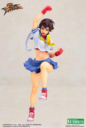 Street Fighter - Sakura Bishoujo Statue on Crunchyroll