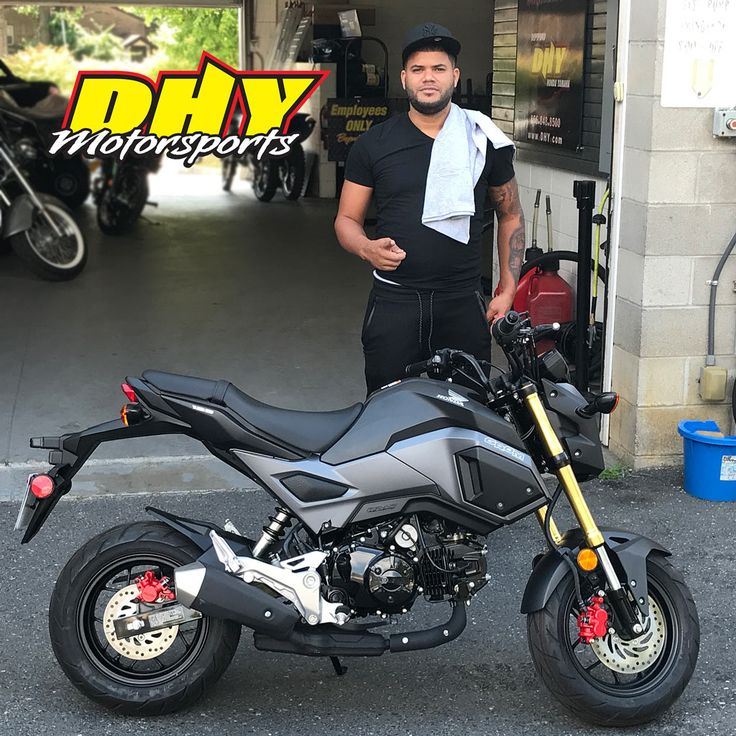 Congrats Edinson, from #Camden on this 2017 #Honda #Grom125 You can't help falling in love with this awesome little fun machine. Thank you for making your purchase at #DHYMotorsports #ClickLiketoHelpmeWinaGiftCard #mynewride Sales Rep: Nick Morgan