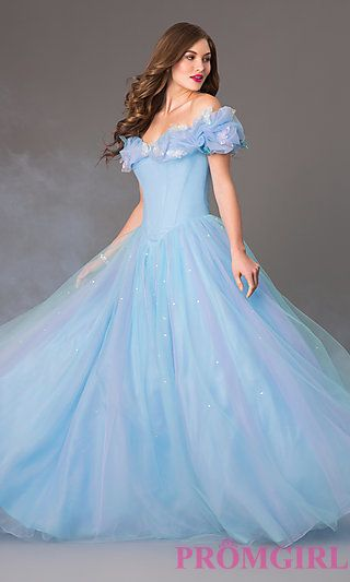 Disney Forever Enchanted Cinderella Dress at PromGirl.com What??? I can't even. #prom2015 #Iwish I love this dress!!!!!!!