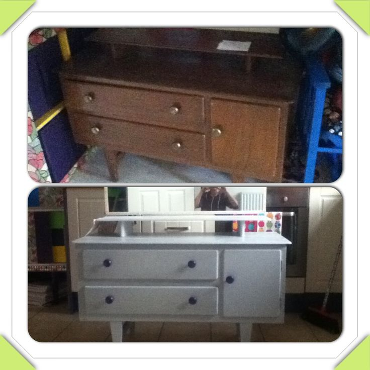 Little girls dresser reloved ;)